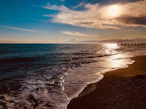 Mallorca, am Strand von Es Trenc