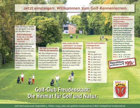 Halbe PR-Seite im Schwarzwälder Boten vom Sa. 15.4.2017