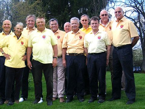 Seniorenmannschaft 2010. Golf-Club Freudenstadt. Foto Rainer Sturm stormpic.de
