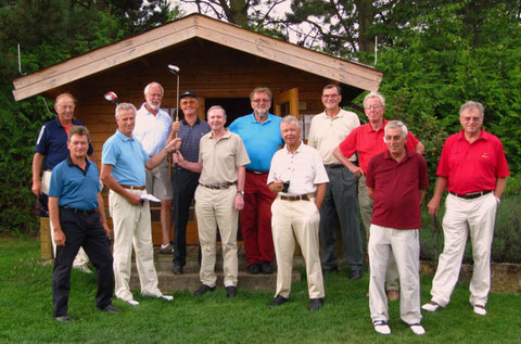 Herrengolf-Ausflug 2009, GC Würzburg. Golf-Club Freudenstadt. Foto Rainer Sturm stormpic.de