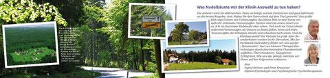 Broschüre Fachklinik Konzeption und Gestaltung, Fotos: Rainer Sturm stormpic.de