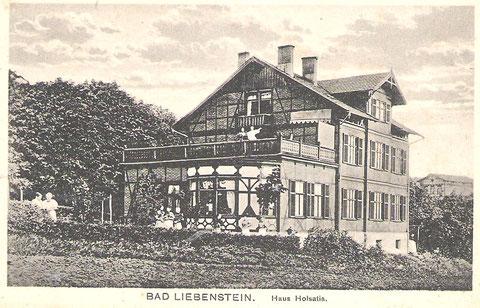Aufnahme um 1900, rechts im Hintergrund Hotel Bellevue -Archiv W.Malek