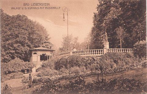 Postkarte im Besitz von Volker Henning - leider haben ja Pavillion und Malakoff nicht mehr lange nach der Aufnahme existiert