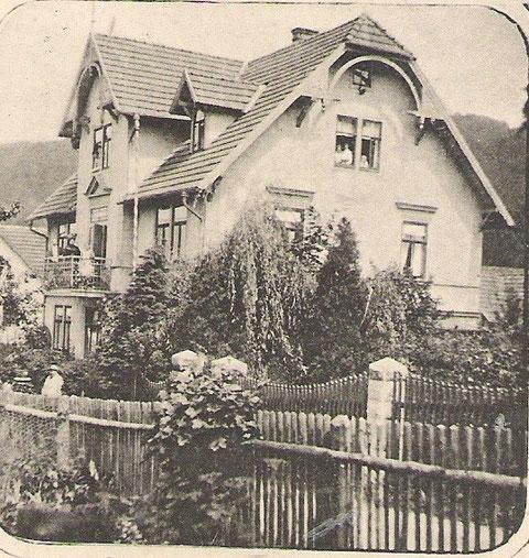 Villa Auguste 1916 -  Archiv Hartmut Luck
