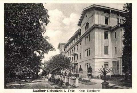 Haus Bernhard 1928 - Archiv W.Malek