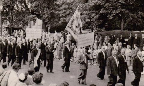 Sängerfest 100 Jahre Sängerkranz Bad Liebenstein - Archiv Gerd Eisenbrandt