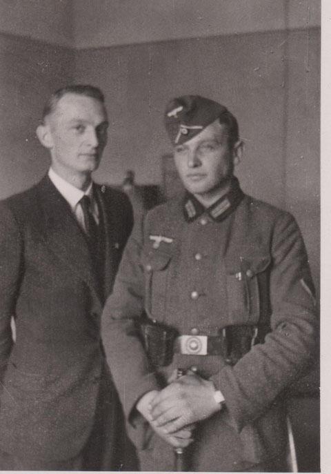 Hans  und Helmut Perlet - 2.WK - Quelle Dr. Henning Frank