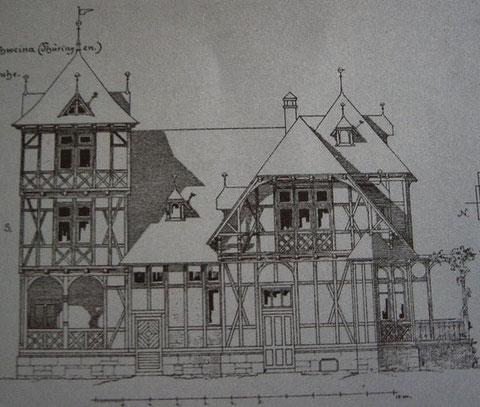 Entwurf Neumeister für Villa LUX - Recherche Jürgen Roth