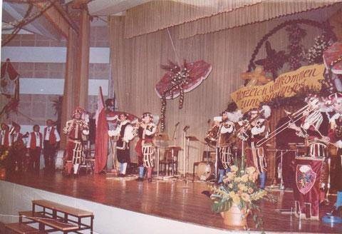 Blumenfest 1987 im damaligen Kreiskulturhaus - Archiv W.Malek