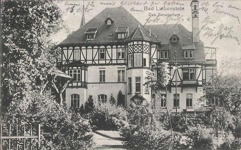 Sanatorium 1924 - Archiv W.Malek