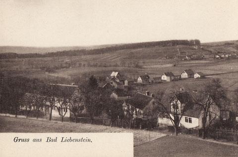 Ansichtskarte vor dem 1. WK, rechts vorne Hartmann - Quelle V. Henning