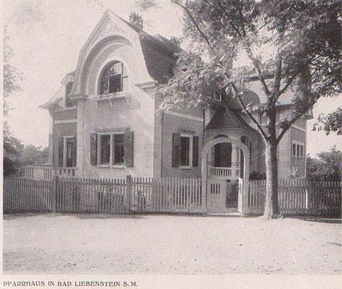 Zustand kurz nach 1906 - Archiv W.Malek