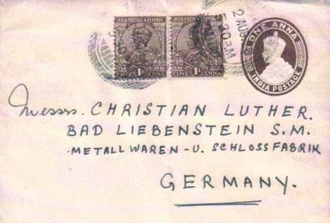 Brief aus Indien - Archiv Martina und Jochen Luther