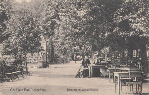 Greifenbrunnen ca. zwei Jahre vor dem Abriß - Aufnahme 1911