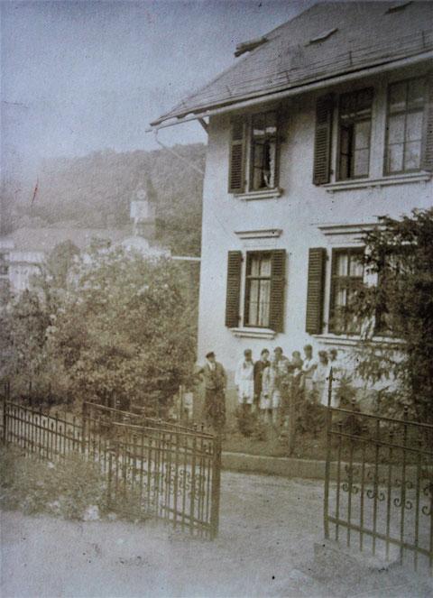 Villa Hopf mit Kaiserhof - Quelle W. Malek