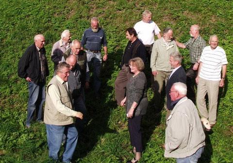 Besprechung an der Burg September 2011