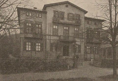 Villa Schmidt-Bourguet 1902   Archiv W.Müller -H. Luck