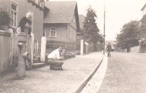 Heinz Claus und Tante Auguste und klein Brigitte - Sammlung B.Huhn