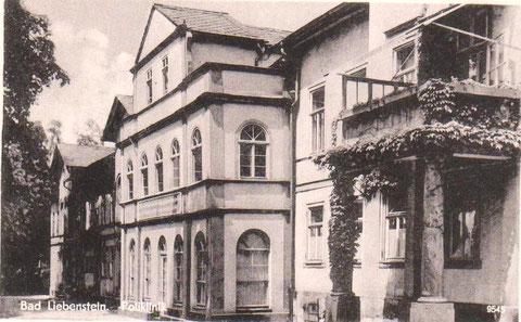 Kaltwasserheilanstalt Südseite Archiv W.Malek