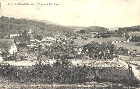 links das Haus Untere Reichshöhe ein Jahr vor dem Brand - Archiv W.Malek