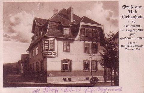 gelaufen 1920er