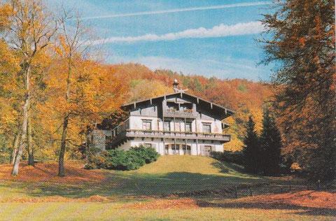 Villa Feodora - gezielt gestaltete Architektur im Landschaftsraum