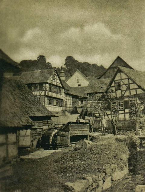 Hammerteich Steinbach - Archiv Harald Schuck
