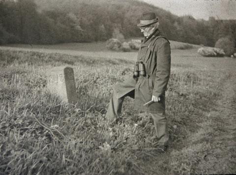 Josef Malek an der Landwehr in Bairoda 1984 - Archiv: W. Malek