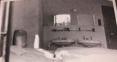 So sahen 1958 die Privatzimmer für Kurpatienten aus...