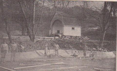 Aus der Badewoche von 1914 - Repro W.Malek
