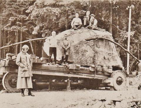 Beginnender Transport - Sammlung Anja König