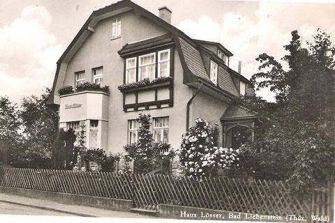 Haus Lösser 1938 Archiv Luck