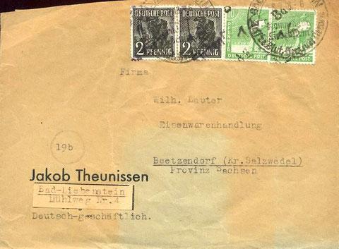 Brief von 1948