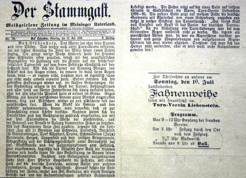 Stammgast 12. Juli 1898