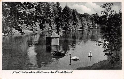Partei aus dem Elisabethpark - gelaufen 2.Juni 1940 - Cramers Kunstanstalt Dortmund