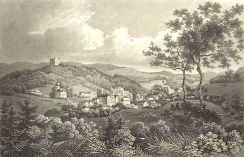 Stahlstich nach 1850 - Archiv W.Malek