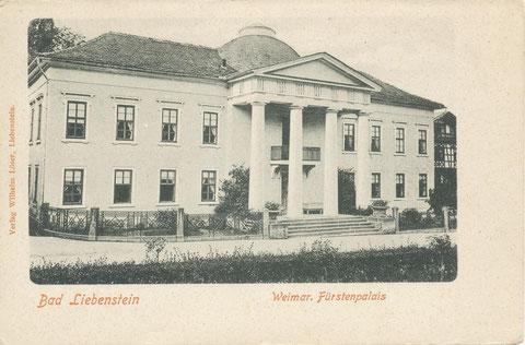 Palais Weimar Ansicht 1900
