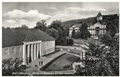 Badehaus und Theater kurz nach 1937 - Archiv W.Malek