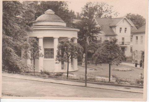 Haus Erika im Zustand vor dem Brand, 1960er Jahre - Archiv W.Malek
