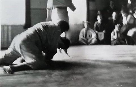 Judowettkämpfe im Saal des Goldenen Löwen 1960 - gepostet am 05.11.2018 von Rene Gruß