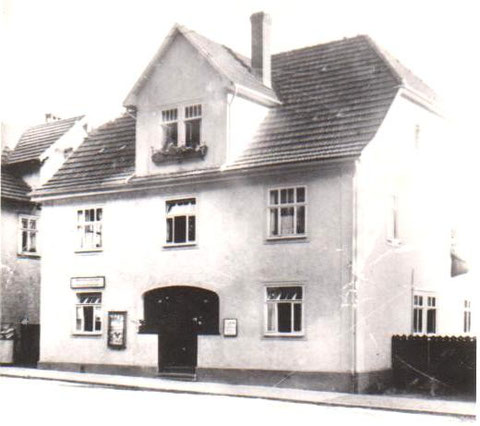 Haus zwischen Trude Pfoch und Gutem Tropfen 1960er - Archiv W.Malek