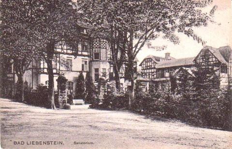 Sanatorium 1919 - Archiv W.Malek