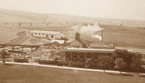 Blick auf das Bergwerk in Richtung Süden - Sammlung Foto Bodenstein
