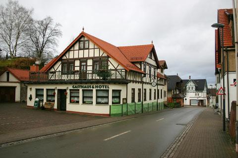 In neuem Gewand präsentiert sich auch das Klosterbräu - Aufnahme Dezember 2013