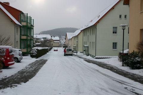 Rohstraße im Februar 2013