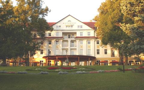 """Kulturhotel """" Kaiserhof """" September 2012 - Aufnahme W.Malek"""