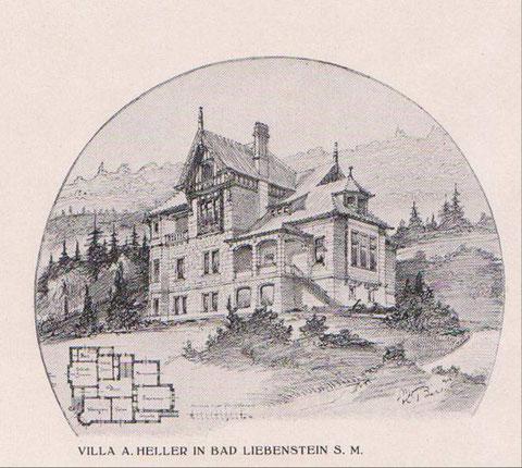 Entwurf von Hofbaurat Karl Behlert - Archiv W.Malek