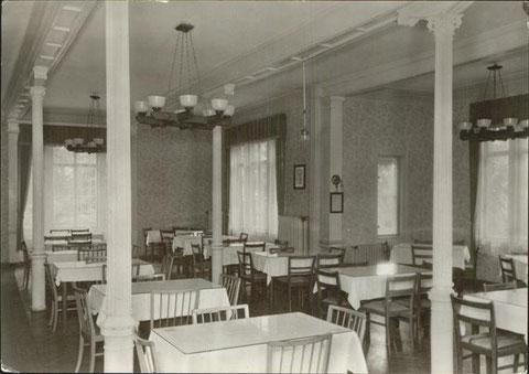 Speisesaal vor 1969