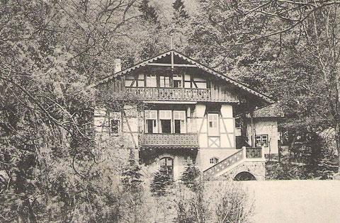 Villa Modesta 1917 - Archiv W.Müller