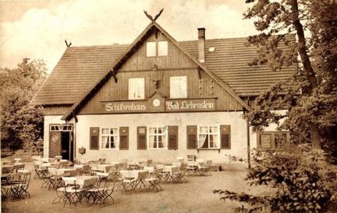 Waldgaststätte und Fremdenheim 1942 - Besitzer O.Staudacher - Archiv W.Malek
